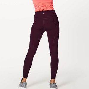 """Lululemon Dark Adobe All The Right Places Pant 28"""""""